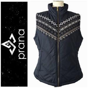 PRANA Fair Isle Design Vest